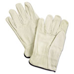 Memphis Glove Unlined Pigskin Driver Gloves, Cream, X-Large, 12 Pair