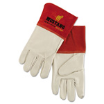 Memphis Glove Mustang Mig/Tig Welder Gloves, Tan, Extra Large