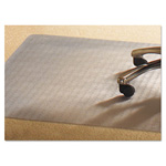 Mammoth Office Products PVC Chair Mat for Medium Pile Carpet, 46 x 60, No Lip, Clear