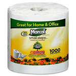 Marcal White Septic-Safe 1-Ply Bulk Bathroom Tissue