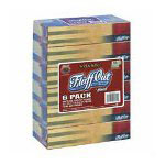 Marcal White 2-Ply 100% Recycled Facial Tissue, 12 Packs of 6 Boxes