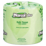 Marcal 100% Recycled Bathroom Tissue, White, 240 Sheets/Roll, 48 Rolls/Carton