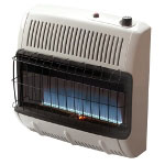 Mr. Heater Vent Free 30,000 BTU Blue Flame, Natural Gas Heater