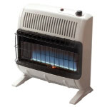Mr. Heater Vent Free 30,000 BTU Blue Flame, LP Gas Heater