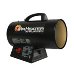 Mr. Heater QBT Forced Air Propane Heater, 30-60,000 BTU/Hr.