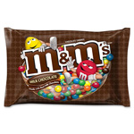Mars Drinks M&Ms Candy, w/Zipper On Bag, 19oz., Milk Chocolate