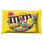 Mars Drinks M&MS Chocolate Candy, w/ Zipper on Bag, 19.2oz., Peanut