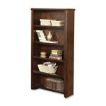 Martin Furniture Kathy Ireland Tribeca Loft Open Bookcase - Wood