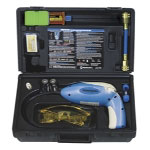 Mastercool Heated Diode Electronic Leak Detector with UV light and 10 Application Dye Kit
