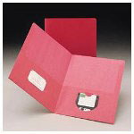 Smead Two Pocket Portfolio, Assorted Colors, Pack of 6