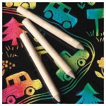 Scratch Art Company Jumbo Size Wood Sticks