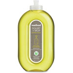 Method Products Squirt + Mop Hard Floor Cleaner, 25 oz Spray Bottle, Lemon Ginger, 6/Carton