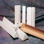 "Box Partners 3 x 18 1/4"" Triangle Mailing Tubes"
