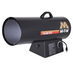 Mi-TM Portable Propane Forced Air Heater, 150,0000 BTUs