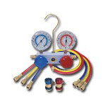 Mountain R134A Aluminum Manifold Gauge Set w/Couplers