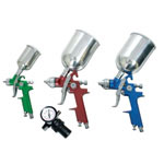 Mountain 4 Piece Waterborne H.V.L.P. Spray Gun Kit