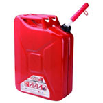 Midwest Can 5 Gallon Metal Auto Shutoff Jerry Can