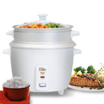 Maxi-Matic 8 Cup Rice Cooker W/ Steam Tray