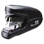Max USA Flat Clinch Light Effort Stapler, 35-Sheet Capacity, Black