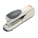 Max USA Standard Flat Clinch 30 Sheet Stapler, Gray