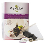 Mighty Leaf Tea Whole Leaf Tea Pouches, Organic Earl Grey, 15/Box