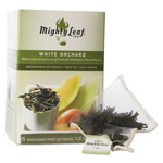 Mighty Leaf Tea Whole Leaf Tea Pouches, White Orchard, 15/Box