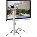 Elite Screens Tripod Series T85NWS1 - Projection Screen with Tripod - 85 in