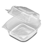 "D&W Finepack SeeShell 6"" x 6"" Hinged Container"