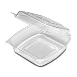 "D&W Finepack SeeShell 8"" x 8"" Medium Hinged Container"