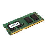 Micron Technology, Inc Crucial Memory - 8 GB - So DIMM 204-Pin - DDR3