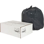 Nature Saver Recycled Black Trash Bags, 16 Gallon, Box of 500