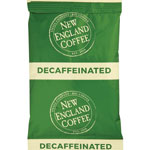 New England Coffee Coffee Portion Packs, Breakfast Blend Decaf, 2.5 oz Pack, 24/Box