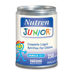 Nestle NUTREN JUNIOR® - Nutren Jr, 250 Ml Can, Vanilla