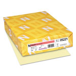 Neenah Paper Linen Writing Paper, Baronial Ivory, 8 1/2x11, 24 lb., 500 Sheets/Ream