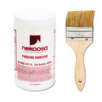 Nekoosa Coated Products Coated Products Fan-Out Padding Adhesive, 32 oz Liquid