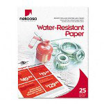 Nekoosa Coated Products Digital Coated Polyester Copy/Laser Paper, White, Letter, 25 Sheets