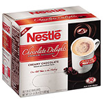 Nestle Instant Hot Cocoa Mix, Creamy Chocolate, 1.18 oz Packet, 30/Box