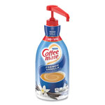 Coffee-Mate® 31803 Liquid Coffee Creamer, Nondairy, French Vanilla, 67 Ounces