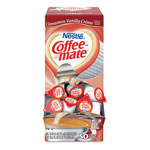 Nestle Liquid Coffee Creamer, Cinnamon Vanilla, 0.375 oz Mini Cups,50/Bx, 4 Box/Carton