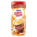Coffee-Mate® Non-Dairy Powdered Creamer, Vanilla Caramel, 15 oz Canister, 90/Pallet
