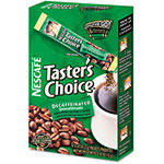 Nestle Taster's Choice Stick Pack, Decaf Coffee, 0.07 oz, 72/Carton