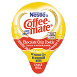 Coffee-Mate® Liquid Coffee Creamer, TH Chocolate Chip Cookie, 0.375oz Mini Cups, 50/Bx