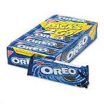 Oreo® Chocolate Sandwich Cookies, Twelve 6 Cookie Packs/Box