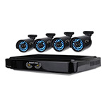 Night Owl Eight-Channel AHD Video Security System with 4 Cameras, 1280 x 720p Resolution