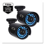 Night Owl Security Bullet Cameras for AHD Series DVRs, 1280 x 720p Resolution, 2/PK