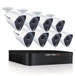 Night Owl 8 Channel Extreme HD Video Security DVR, 3MP Resolution