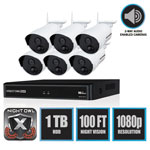 Night Owl 8 Channel 1080p Wireless Smart Security Hub, 3MP Resolution