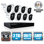Night Owl 8 Channel Extreme HD Video Security DVR, 5MP Resolution