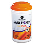 Nice-Pak Sani-Hands® Sanitizing Wipes, 6 Canisters of 300