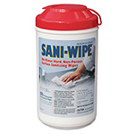 Nice-Pak Sani-Wipe Disinfecting Wipes, Case of 6